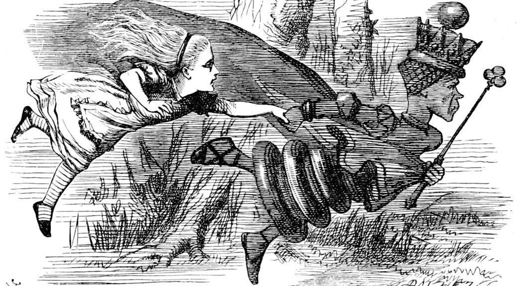 John Tenniel, 1871. Dominio Público